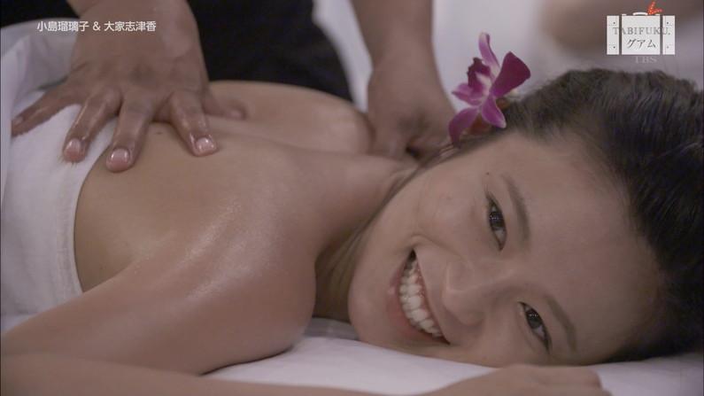 【エステキャプ画像】美女達のはみ出した生乳見放題のエステキャプ画像ww 24
