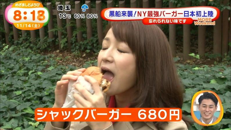 【疑似フェラキャプ画像】大口開けて食レポしてるタレント達の顔が卑猥な顔になってるw 08