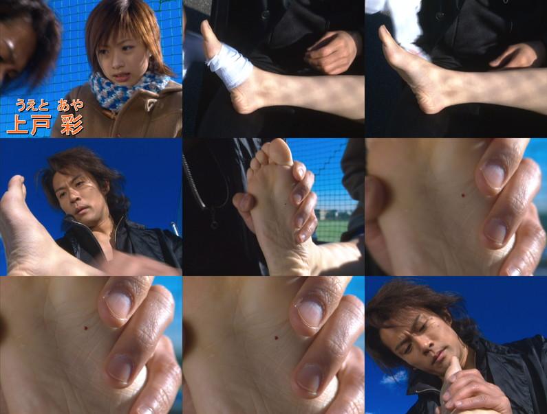 【足裏キャプ画像】どんな匂いか少し気になる女性タレントの足の裏ww 10