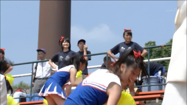 【甲子園キャプ画像】甲子園に映るエロ可愛いJKのチアガールたちw 09