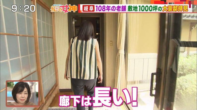 【お尻キャプ画像】タレント達がピタパン履いてヒップライン強調し過ぎw 15