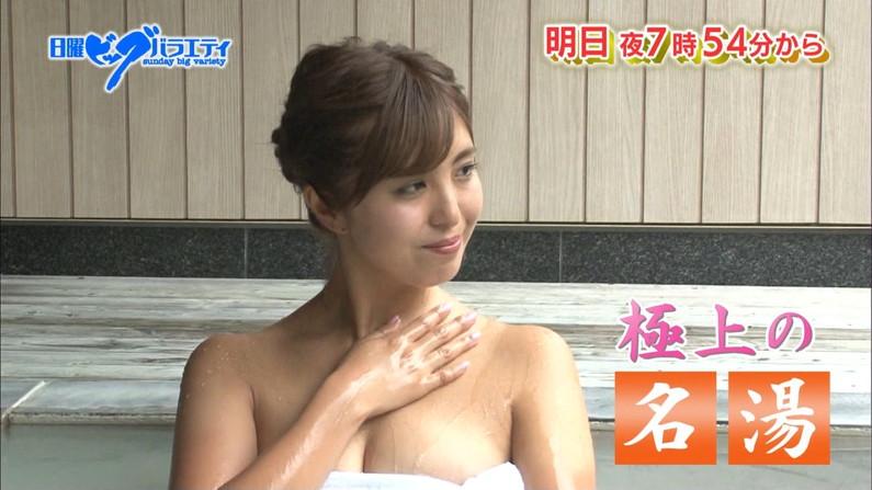 【温泉キャプ画像】女性タレント達のお色気ムンムンな温泉レポw 05