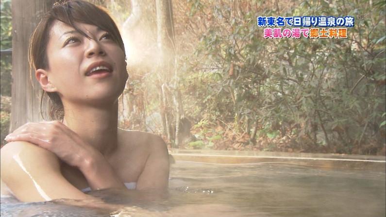 【温泉キャプ画像】女性タレント達のお色気ムンムンな温泉レポw 16