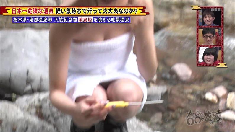 【温泉キャプ画像】女性タレント達のお色気ムンムンな温泉レポw 18