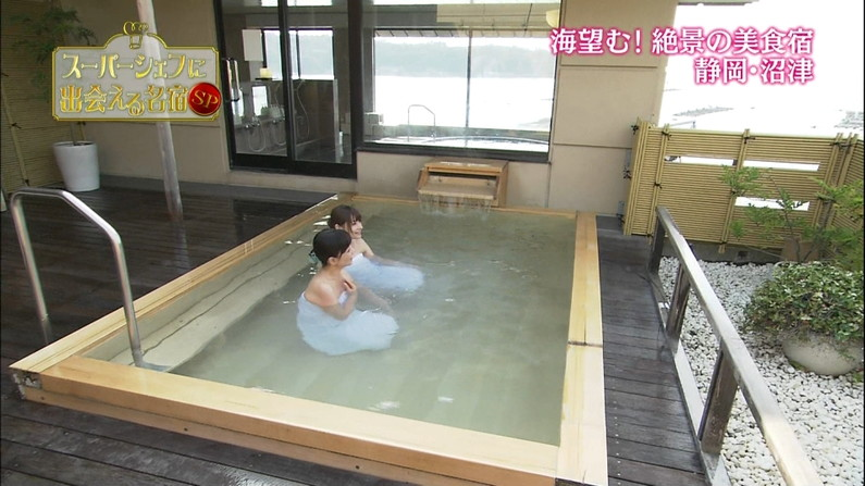 【温泉キャプ画像】色気ムンムンに出す美人タレント達の温泉レポw 15