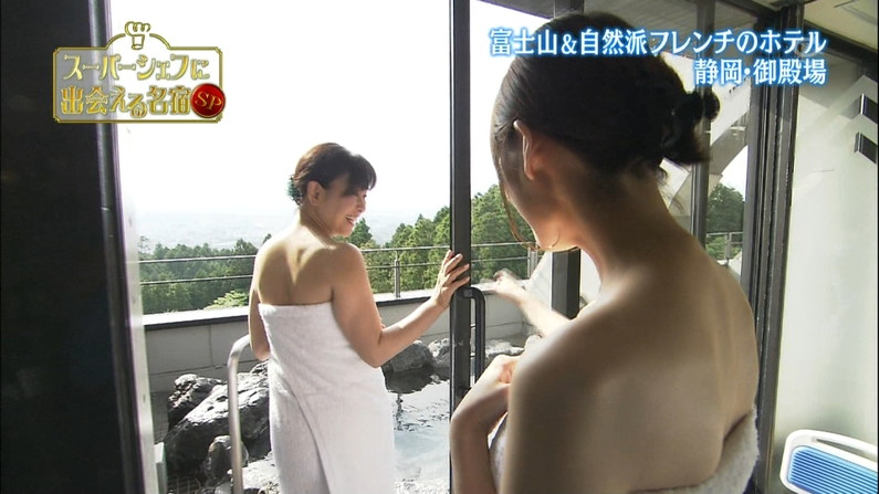 【温泉キャプ画像】色気ムンムンに出す美人タレント達の温泉レポw 21