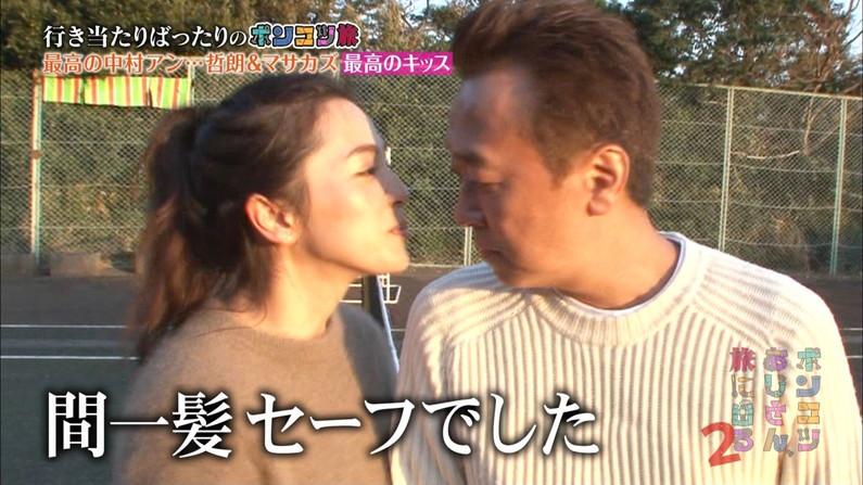 【キスキャプ画像】こんな美女と濃厚なキスしてるだけで勃起が収まらなくなりそうだなw 10