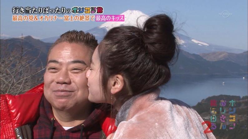 【キスキャプ画像】こんな美女と濃厚なキスしてるだけで勃起が収まらなくなりそうだなw 11