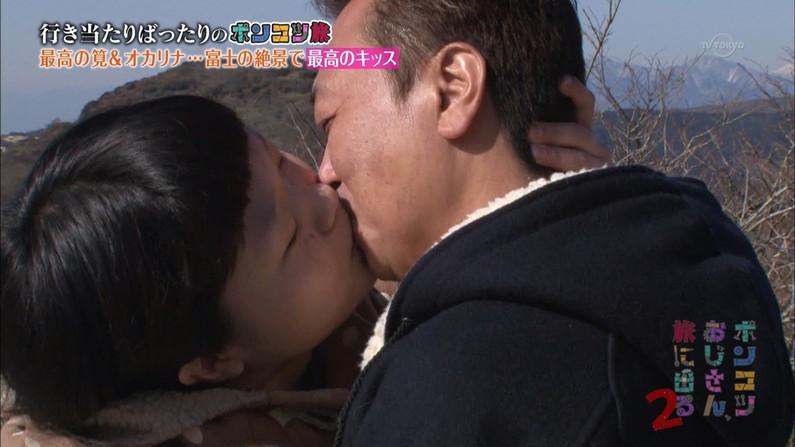 【キスキャプ画像】こんな美女と濃厚なキスしてるだけで勃起が収まらなくなりそうだなw 15