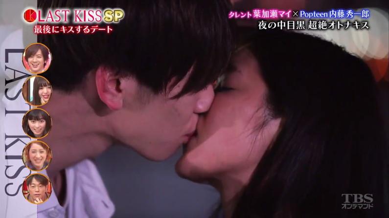 【キスキャプ画像】こんな美女と濃厚なキスしてるだけで勃起が収まらなくなりそうだなw 23