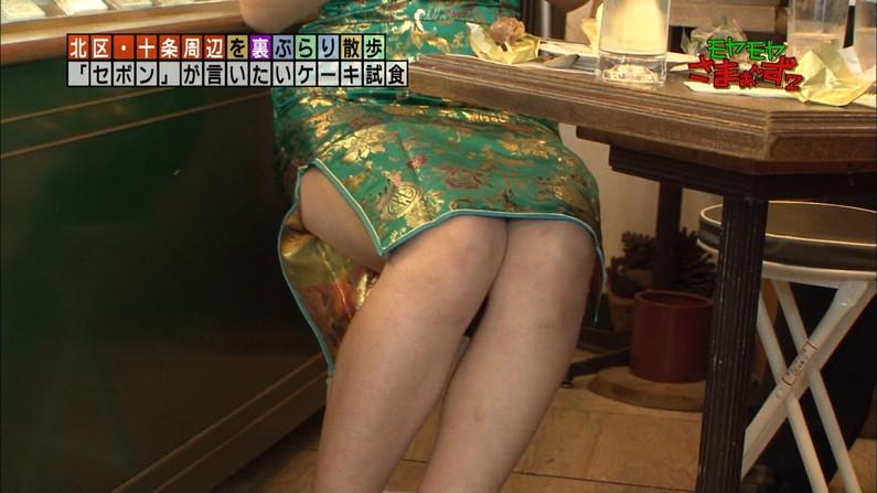 【太ももキャプ画像】露出されると思わず見入ってしまうタレント達のエロい太ももw 18