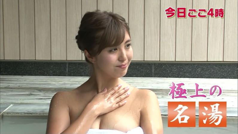 【温泉キャプ画像】美女のエロい入浴シーンが見れるから旅番組は見逃せないよなww