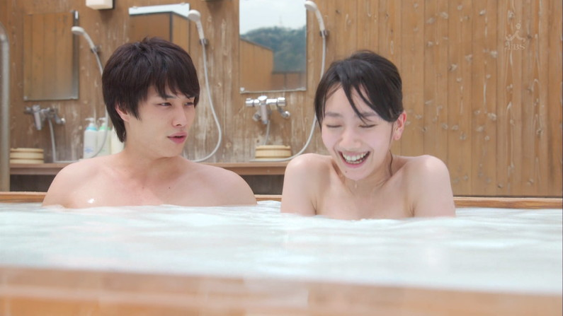 【温泉キャプ画像】美女のエロい入浴シーンが見れるから旅番組は見逃せないよなww 01