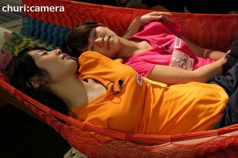 【寝顔キャプ画像】女子アナやアイドル達の寝顔が可愛すぎるんですけどw 07