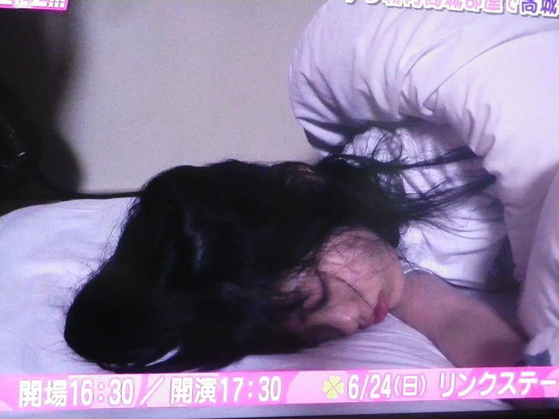 【寝顔キャプ画像】女子アナやアイドル達の寝顔が可愛すぎるんですけどw 21