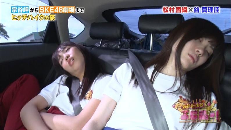 【寝顔キャプ画像】女子アナやアイドル達の寝顔が可愛すぎるんですけどw 23