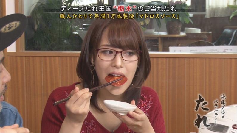 【疑似フェラキャプ画像】どうしてタレントさん達はこんなやらしい顔して食レポするんだろうか?w 16