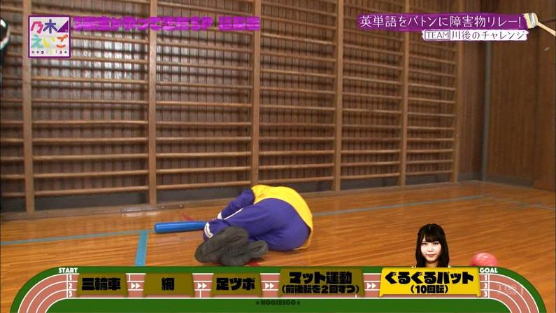 【お尻キャプ画像】パンツラインまでくっきり見えてるブリブリのお尻がテレビに映ってるw 16