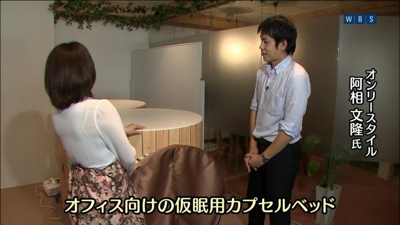 【透けブラキャプ画像】女子アナ達が薄いシャツ着てるもんだから思いっきりブラジャー透けまくってるじゃねーかw 24