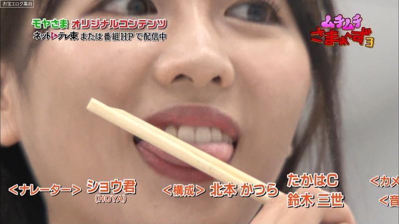 【疑似フェラキャプ画像】食レポするとどうしてもフェラ顔になっちゃうタレント達w
