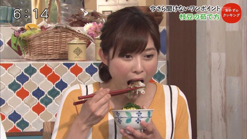 【疑似フェラキャプ画像】食レポするとどうしてもフェラ顔になっちゃうタレント達w 14