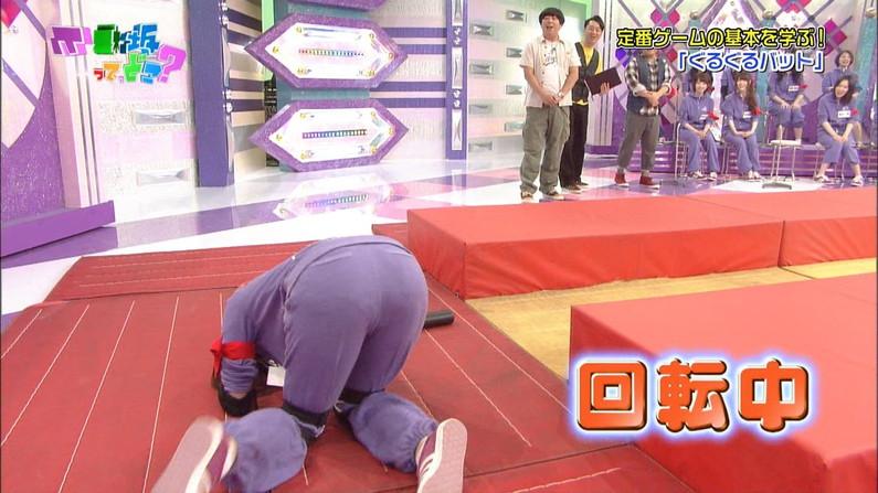 【お尻キャプ画像】テレビでタレントさんのパンツラインめっちゃ見えてるんだけどw 10