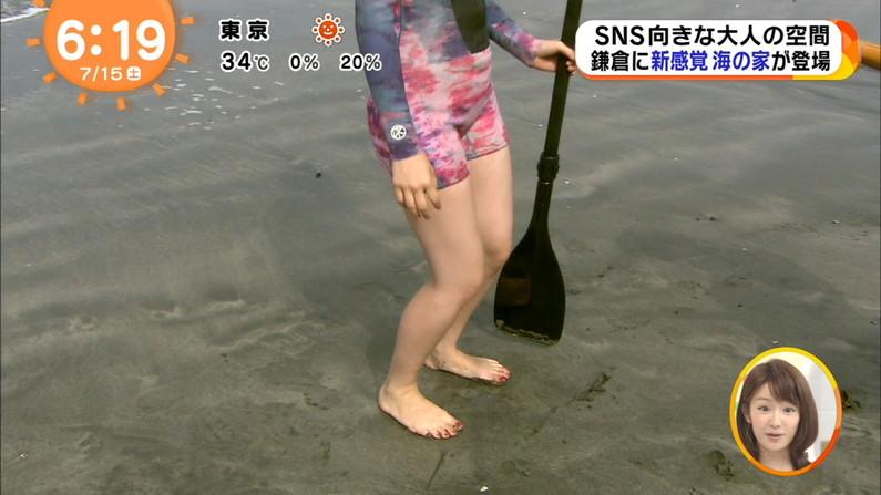 【太ももキャプ画像】自慢の美脚をこれ見よがしに披露するタレント達w 14