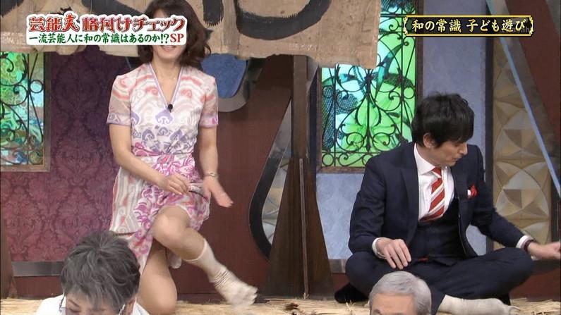 【太ももキャプ画像】自慢の美脚をこれ見よがしに披露するタレント達w 18