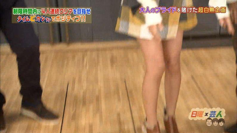 【太ももキャプ画像】自慢の美脚をこれ見よがしに披露するタレント達w 20