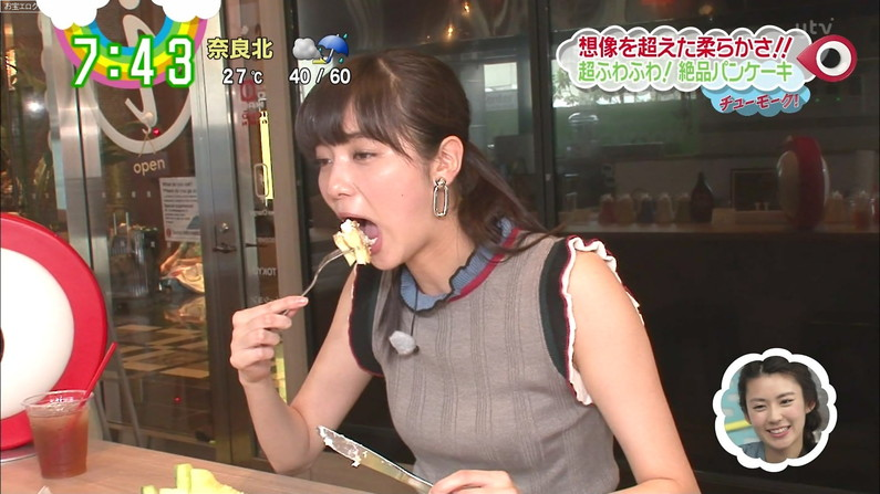 【疑似フェラキャプ画像】食レポでこんなエロい食べ方するからフェラしてるみたいにしか見えないんだよw