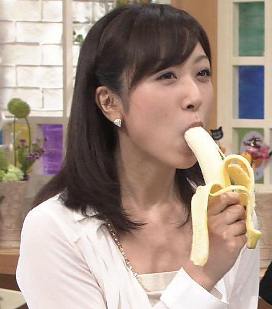 【疑似フェラキャプ画像】食レポでこんなエロい食べ方するからフェラしてるみたいにしか見えないんだよw 03