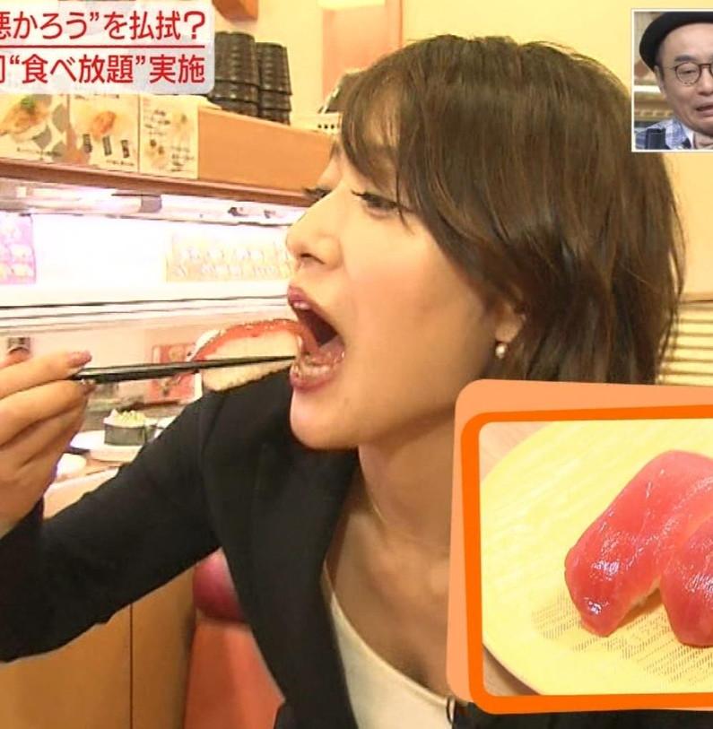 【疑似フェラキャプ画像】食レポでこんなエロい食べ方するからフェラしてるみたいにしか見えないんだよw 09