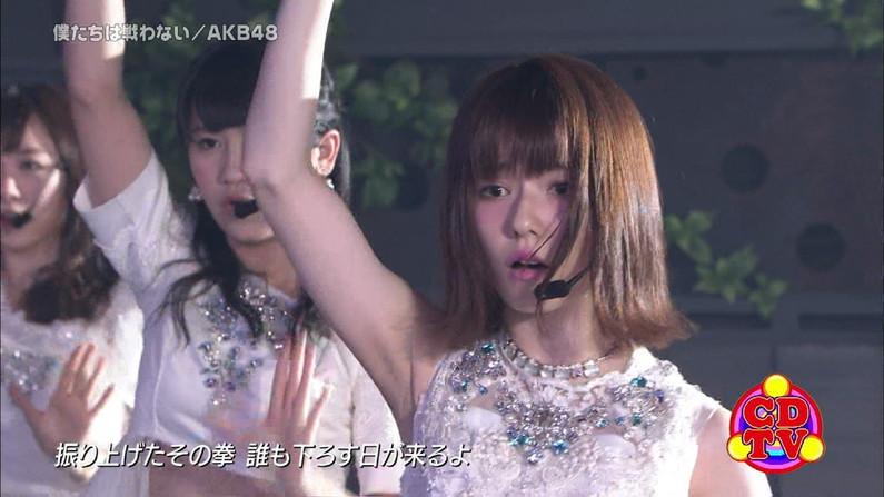 【脇キャプ画像】アイドルや女子アナの脇マンコがエロいww 03