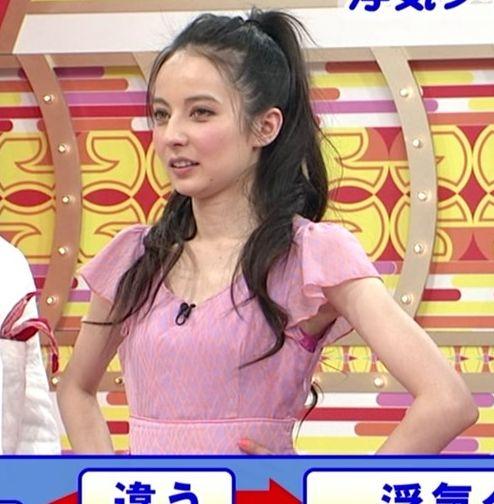 【脇キャプ画像】アイドルや女子アナの脇マンコがエロいww 15