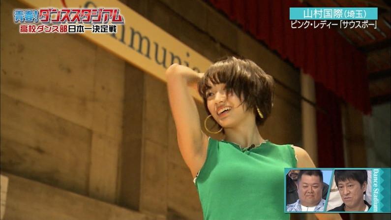 【脇キャプ画像】アイドルや女子アナの脇マンコがエロいww 18