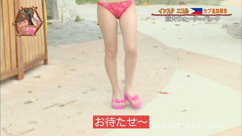 【太ももキャプ画像】テレビに映るムチムチの太ももがエロい美脚なタレント達w 13