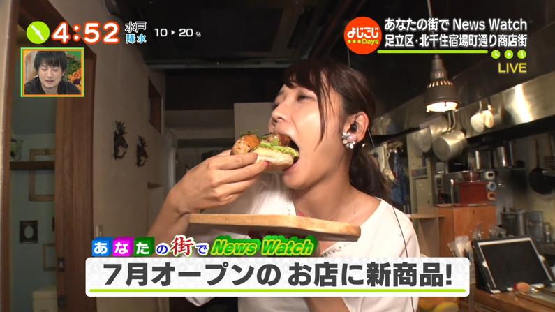 【疑似フェラキャプ画像】どうして食レポの時そんなエッチな顔になっちゃうんでしょうね?ww