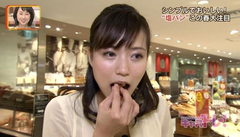 【疑似フェラキャプ画像】どうして食レポの時そんなエッチな顔になっちゃうんでしょうね?ww 22