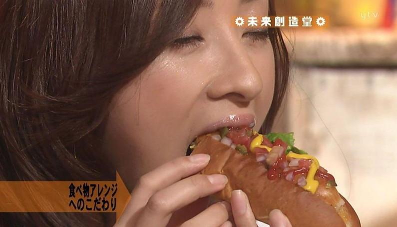 【疑似フェラキャプ画像】どうして食レポの時そんなエッチな顔になっちゃうんでしょうね?ww 23