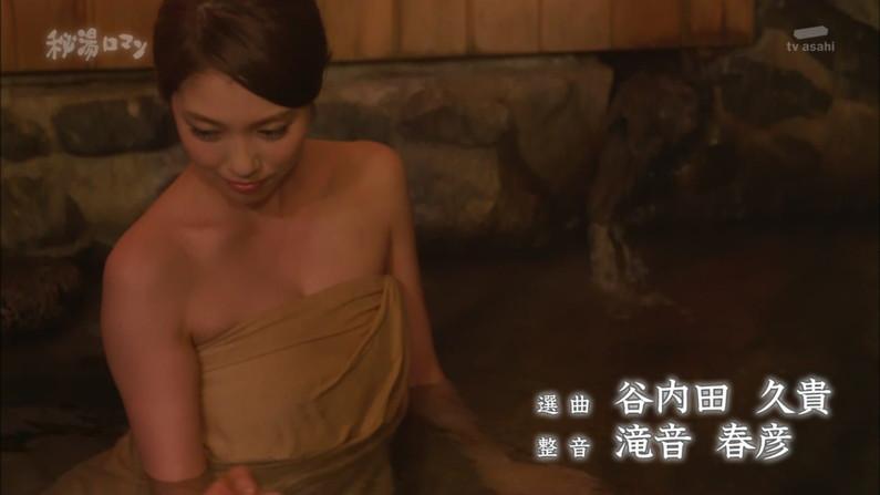 【温泉キャプ画像】美女達のやらしい谷間が気になる温泉レポ画像ww 10