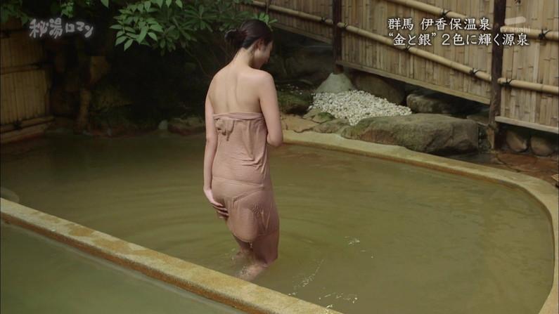【温泉キャプ画像】美女達のやらしい谷間が気になる温泉レポ画像ww 12