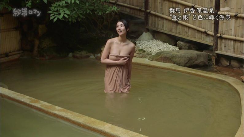 【温泉キャプ画像】美女達のやらしい谷間が気になる温泉レポ画像ww 17