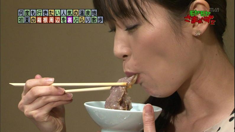 【疑似フェラキャプ画像】食レポするのにそのエロい顔は何ですか!?ww 17