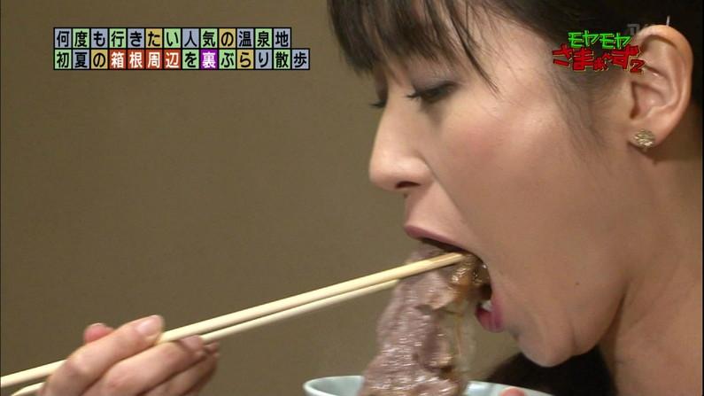 【疑似フェラキャプ画像】食レポするのにそのエロい顔は何ですか!?ww 21