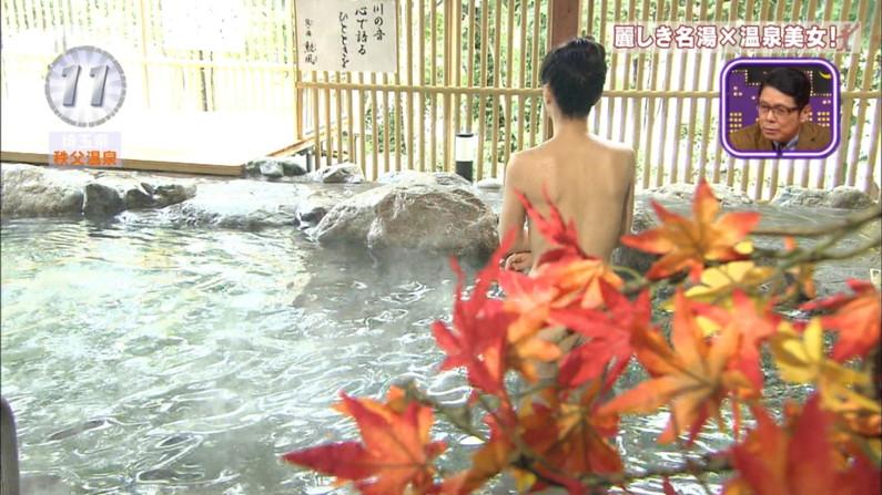 【温泉キャプ画像】ヤベー!!温泉レポで乳首まで見えかけてるぞww 03