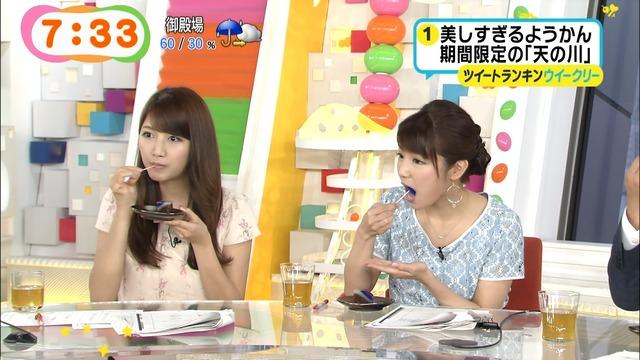 【疑似フェラキャプ画像】やっぱり食レポがどう見ても疑似フェラに見えてしまうエロい表情のタレント達w 17