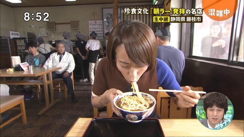 【疑似フェラキャプ画像】食べてるものがチ〇コに見えてきちゃうタレント達の食レポw 03