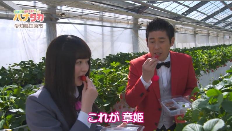 【疑似フェラキャプ画像】エロい顔して食レポするタレント達がフェラしてるようにしか見えないw 01