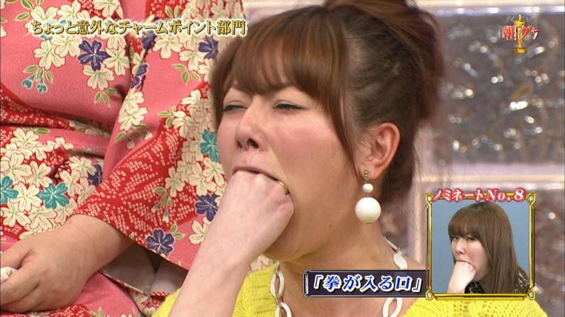 【疑似フェラキャプ画像】エロい顔して食レポするタレント達がフェラしてるようにしか見えないw 12