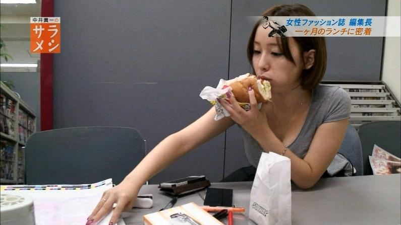 【疑似フェラキャプ画像】エロい顔して食レポするタレント達がフェラしてるようにしか見えないw 14